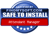 Certified as safe to install